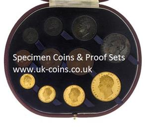 Specimen Coins & Proof Sets