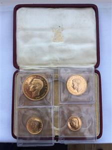 1937 George V1 Gold Proof set image 1