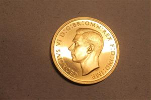 1937 George V1 Gold Proof set image 3