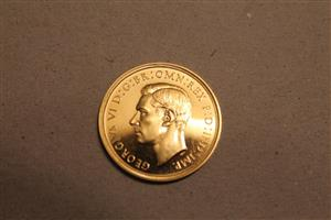 1937 George V1 Gold Proof set image 5